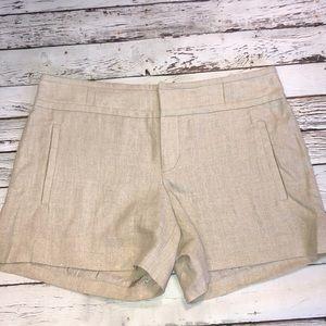 Anthropologie Linen Shorts NWOT Size 8